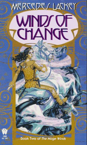 Cover of Winds of Change (The Mage Winds, Book 2)