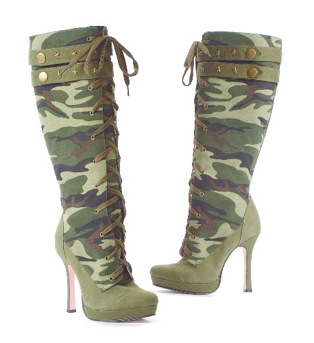 Sergeant Camo Adult Boots Adult (10)