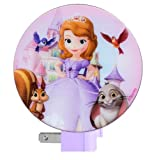 Disney Princess Sofia the First Night Light (Princess Sofia and Friends)