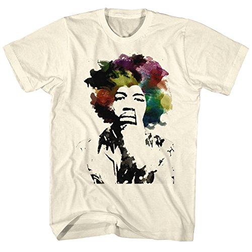 Jimi Hendrix Watercolor Adult T-Shirt Tee