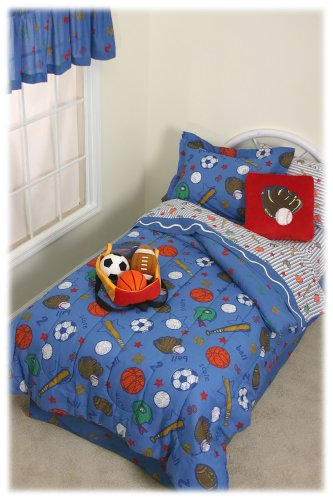 Crayola Collection Sports Comforter Set