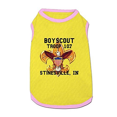 Boy Scouts Cotton Doggie Shirt Dog-coats For Pet