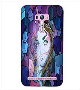 PrintDhaba Fantasy Girl D-2903 Back Case Cover for ASUS ZENFONE SELFIE ZD551KL ULTRA (Multi-Coloured)