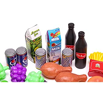 9af0eb8f5 Giant 150 Pc. Great Big Grocery - Ultimate Kids Play Food Set - Epic ...