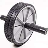 Xett Abdominal Roller Exercise Duo Wheel - grey/black