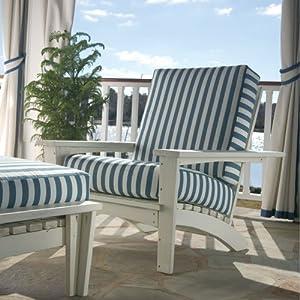 Uwharrie Chair 9021 Chat Leg Rest - White