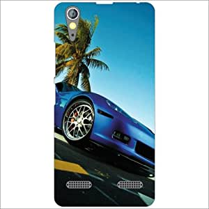 Lenovo A6000 Plus Back Cover - Big Car Designer Cases