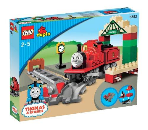 LEGO Duplo Thomas & Freunde 5552 - James auf dem Bahnhof von Knapford
