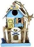 Love Bait Beautiful Chic Garden Bird House in 3 Designs with Feeder Box