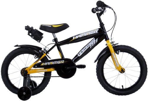 schiano 76 bicicletta hammer uomo 01v. giallo con ruota diametro 14