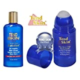 Tend Skin Razor Burn and Ingrown Hair Kit (Tend Skin 4 oz Liquid + Tend Skin Roll-On 2.5oz)