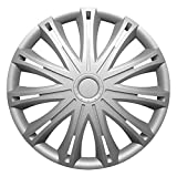 ROVER 600 (1993-2000) 14 Inch Spark Silver Car Alloy Wheel Trims Hub Caps Set of 4