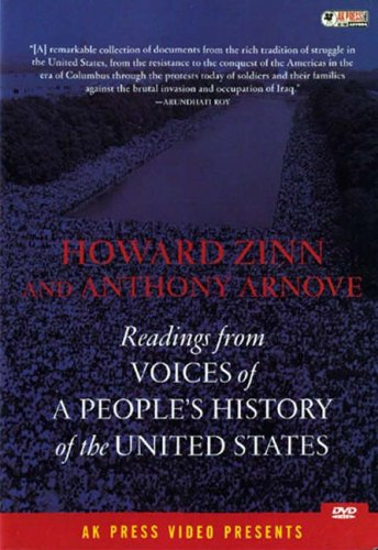 Readings from Voices of a People's History of the United States [DVD] [2004]