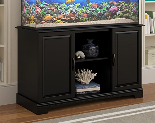 Altra Furniture Harbor Aquarium Stand, 50-75 gallon, Black