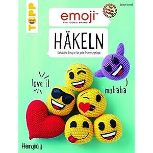 Emoji Häkeln: Gehäkelte Emojis für jede Stimmungslage