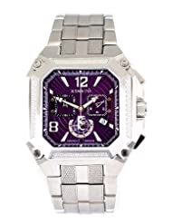 Renato Gents Cougar Swiss Made Quartz Chronograph Stainless Steel 30 ATM Watch