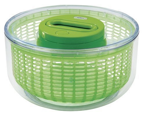 Zyliss Zyliss Easy Spin Salad Spinner, 4-6 Servings, Green
