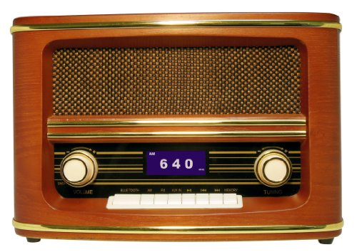 wolverine rsr100 retro table top bluetooth speaker and am fm radio reviews radio reviews. Black Bedroom Furniture Sets. Home Design Ideas