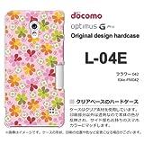 docomo Optimus G Pro L-04E ケース Optimus G Pro L-04E カバー ケース・ジャケット【フラワー042/l04e-PM042】