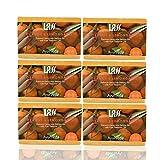 Lass Naturals Orange And Lemangrass Handmade Soap (Pack Of 6)