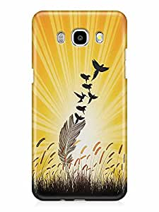 YuBingo Feathers to Birds Designer Mobile Case Back Cover for Samsung Galaxy J7 2016
