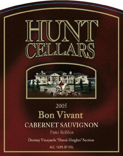 2005 Hunt Cellars 'Bon Vivant' Cabernet Sauvignon, Paso Robles 750 Ml