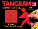 Tangram Magnet Puzzle-a-Day 2015 Cale...