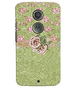Motorola Moto X (2ND Gen):MOTO X2 MULTICOLOR PRINTED BACK COVER FROM GADGET LOOKS