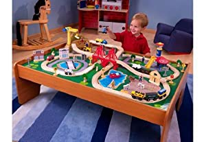 Ride Around Town Train Set with Table [Toy] NM: 17836