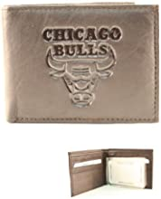NBA Officially Licensed Chicago Bulls Black Bi-fold Wallet by Rico