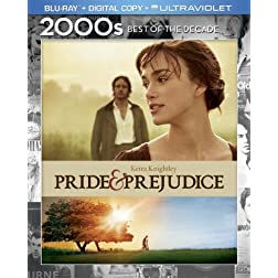Pride & Prejudice (Blu-ray + Digital Copy + UltraViolet)