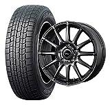 15インチ 1本セット スタッドレスタイヤ&ホイール ダンロップ(DUNLOP) DSX-2 195/65R15 ウェッズ