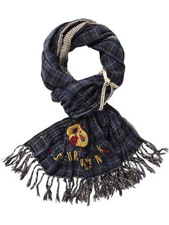 Scotch Shrunk Jungen Tuch 12440870500 - bonded scarf, Gr. one size (OS), Mehrfarbig (E - dessin E)