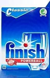 Finish Powerball Boîte de 90 tablettes Classic pour lave-vaisselle