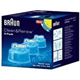 :Braun, Ccr3 Braun Series Clean & Renew Cartridge 3 Pack