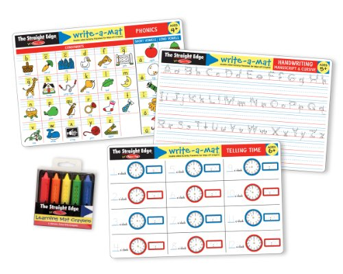 Melissa & Doug Basic Skills Placemat Bundle