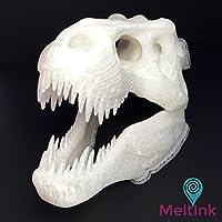 MeltInk3d Clear 1.75mm PLA 3D Printer Filament 1Kg from MeltInk3d
