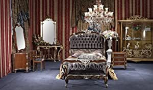 Amazoncom george versailles classic traditional for Bedroom furniture sets george