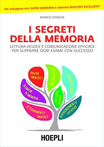 I segreti della memoria: Lettura veloce e comunicazione efficace per superare ogni esame con successo (Preparazione Concorsi)