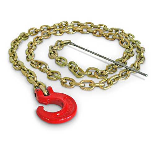 Portable Winch Co. PCA-1295 7 foot Choker Chain with C-Hook and Steel Rod (PCA-1295) (Log Cone compare prices)