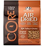 Wellness CORE Air Dried Grain Free Original Turkey & Chicken Natural Dry Dog Food, 2-Pound Bag