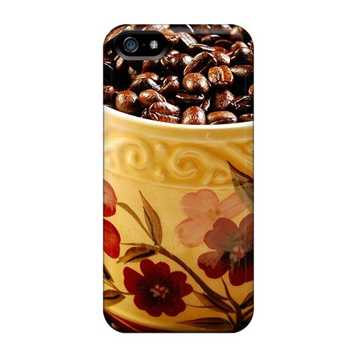 TVI3552jFDC Food And Drink Coffee Beans Fashion 5/5s Cases Covers For Iphone