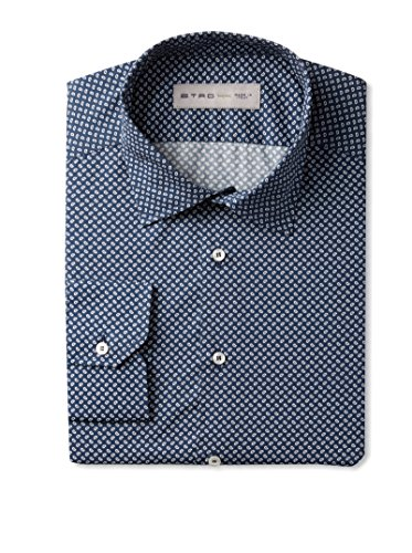 Etro Men's Allover Print Long Sleeve Dress Shirt