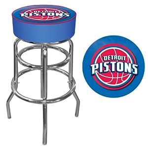 Detroit Pistons NBA Padded Swivel Bar Stool Detroit Pistons NBA Padded Swivel Bar... by Trademark Global