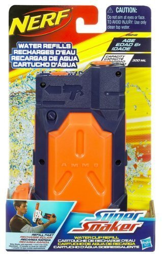 Nerf SUPER SOAKER Water Clip Refill - 1