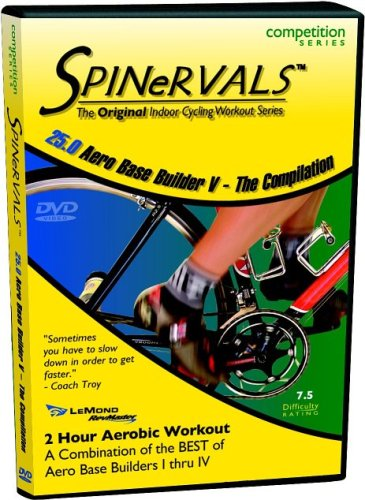 Spinervals Competition DVD 25.0 - Aero Base Builder 