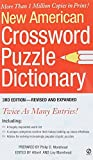 img - for New American Crossword Puzzle Dictionary (Revised Edition) by Philip D. Morehead (2004-07-06) book / textbook / text book