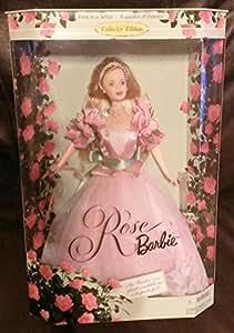Mattel 1999 Barbie Collectibles Rose Barbie