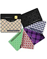 Credit Card Protector, SIX Genuine BLOCKIT RFID Blocking Sleeve offers Identity Theft Protection and Piece of Mind, Exclusive Premium Designs and Quality, Credit Card Holder for Women, Debit Card Sleeve, PROTECT YOURSELF NOW, Before it's Too Late! 100% Money Back LIFETIME GUARANTEE