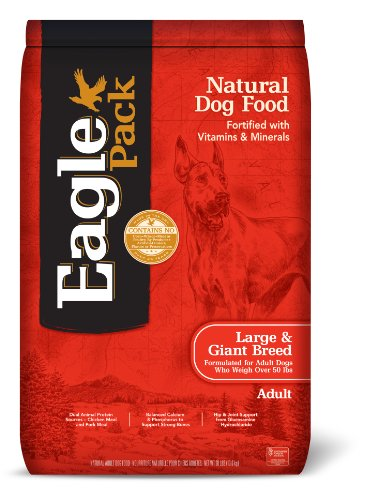 Eagle Pack Natural Dry Large Breed Dog Food, Chicken & Pork, 30-Pound Bag (Eagle Pack Large Breed Adult compare prices)